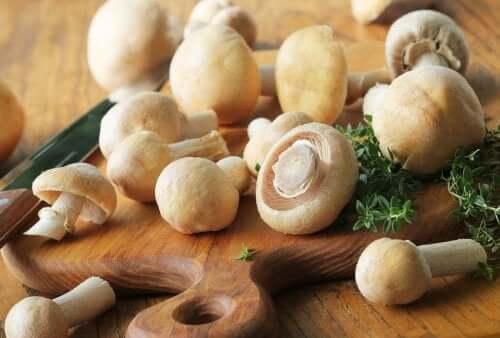 3 recettes aux champignons peu caloriques