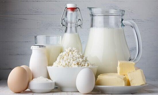 Le supplément de calcium dans les produits laitiers