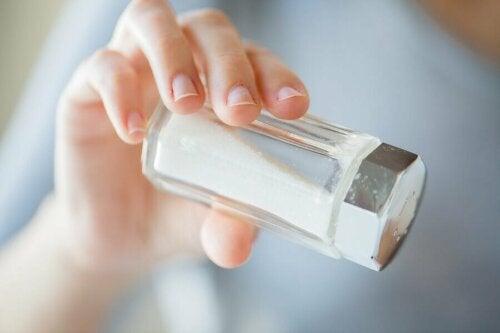 La consommation de sel