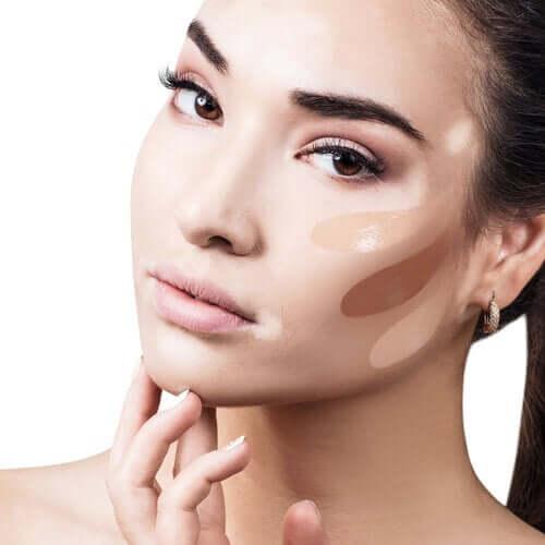 Consignes pour le maquillage correcteur en dermatologie