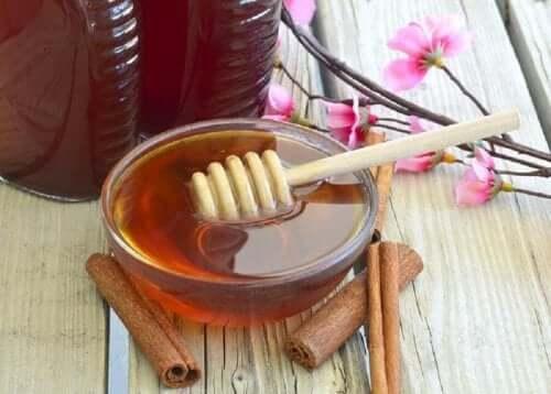 Un mélange de miel et de cannelle pour éliminer les points noirs