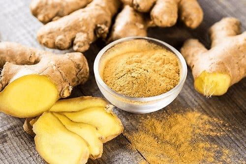 L'infusion au gingembre permet de diminuer le taux d'acide urique