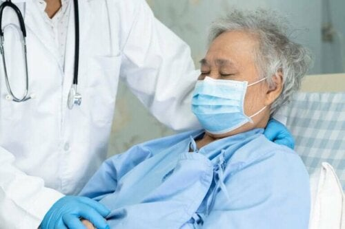 Les séquelles du coronavirus chez un patient