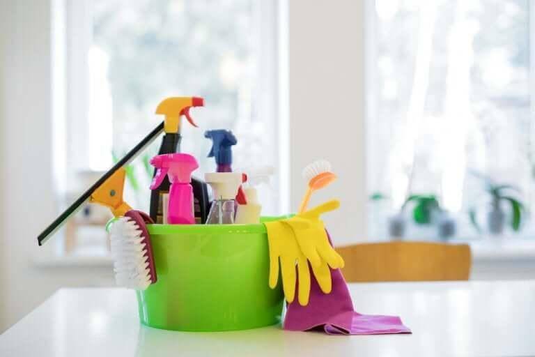 Les produits chimiques ménagers