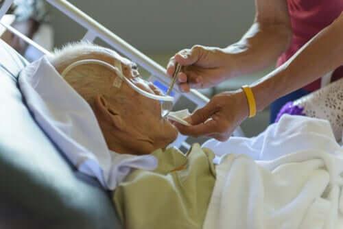 Un patient hospitalisé en état végétatif