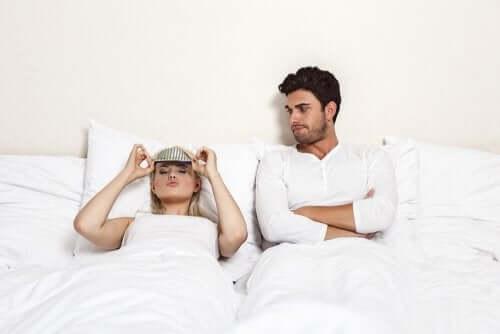 La frustration sexuelle au sein d'un couple