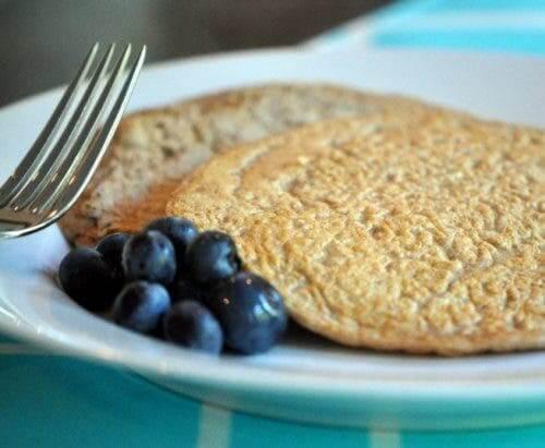 Pancakes protéinés d'avoine et d'épeautre