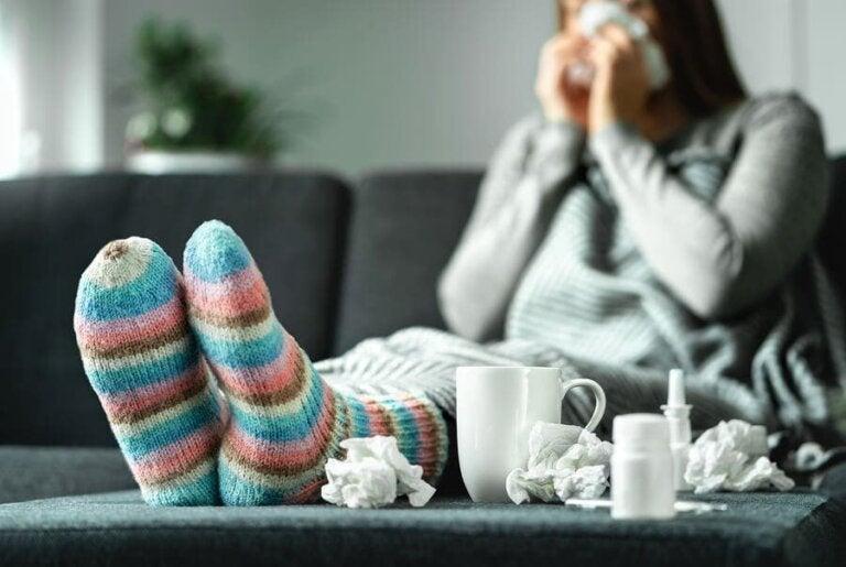 L'alimentation en cas de grippe