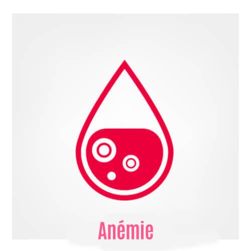 Traitement pharmacologique de l'anémie