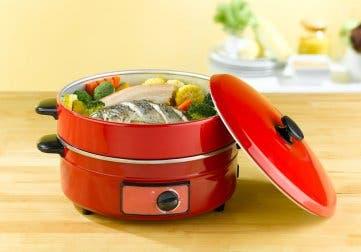 La cuisson vapeur permet d'économiser l'eau