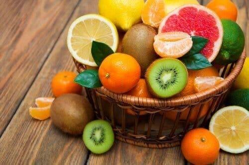 Les fruits contre la déshydratation.