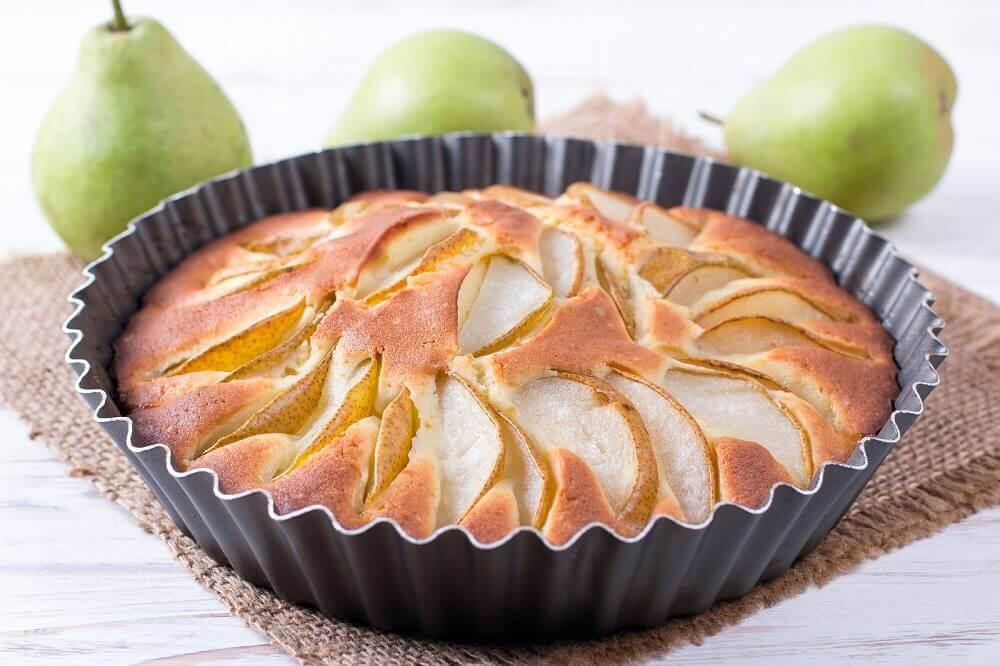 Recette de gâteau aux poires sans sucre