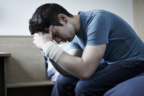 On peut reconnaître la dépression au manque d'appétit