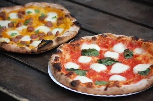 La pizza à la napolitaine est une pizza particulière