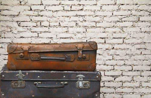 Faire de la décoration écologique avec deux vieilles valises