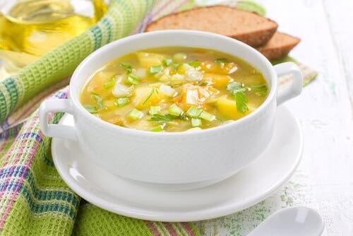 Les soupes végétariennes sont délicieuses