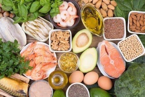 Des aliments contenant des acides gras oméga