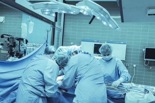 Chirurgie de l'exostose.