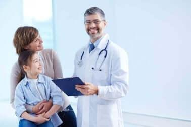 Une consultation médicale.