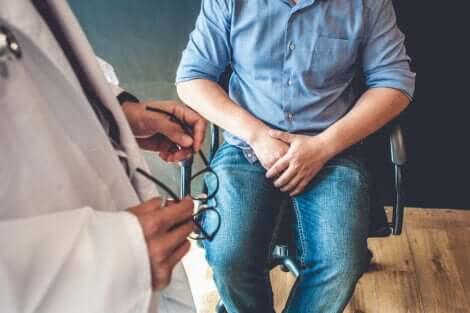 Une consultation médicale pour une cystite.