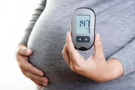 Le contrôle du diabète gestationnel.