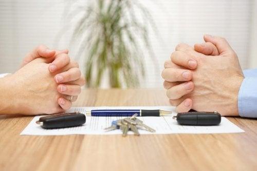 Comment diviser les dettes dans un divorce