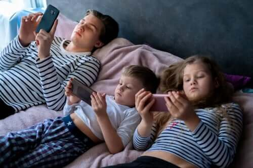 Conséquences de l'exposition excessive aux écrans chez les enfants