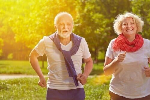 Il est recommandé de faire de l'exercice régulièrement même à le retraite