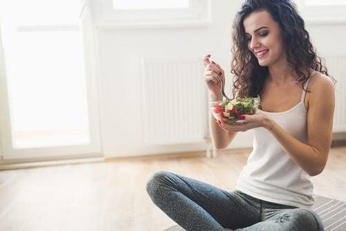 Il est important de manger lentement