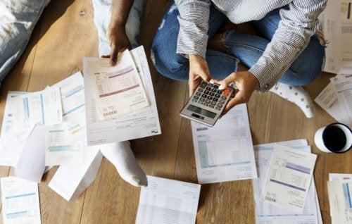 Les premiers pas pour procéder à la division des dettes