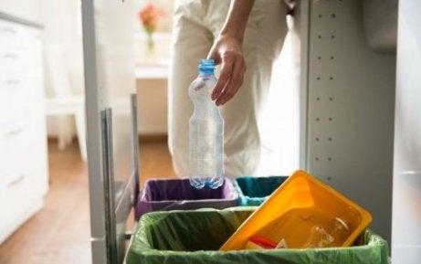 Un logement durable est un logement où l'on fait le tri sélectif des déchets