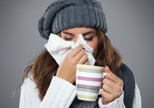 Le rhume fait partie des maladies les plus fréquentes