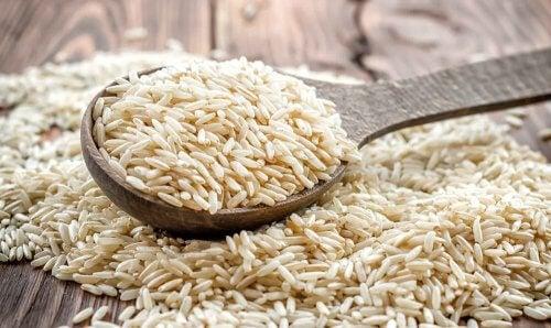 Les nutriments du riz complet