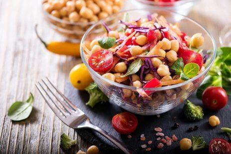 La recette de salade de pois chiches