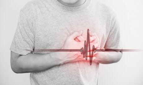 Un homme souffrant d'une dissection spontanée de l'artère coronaire