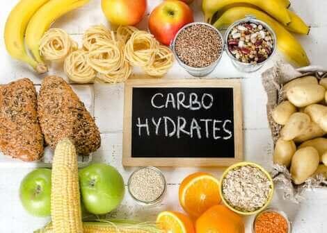 Les glucides et les aliments qui en contiennent.
