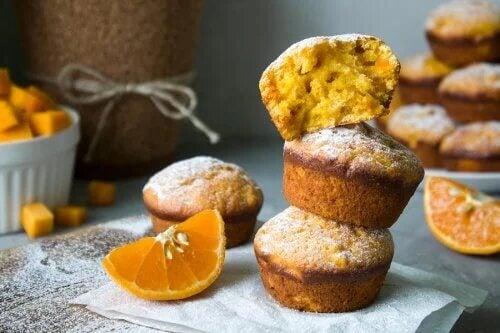 2 recettes de muffins à l'orange très moelleux
