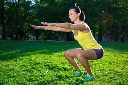 7 raisons de faire des squats tous les jours
