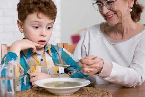 Troubles de l'alimentation chez les enfants autistes