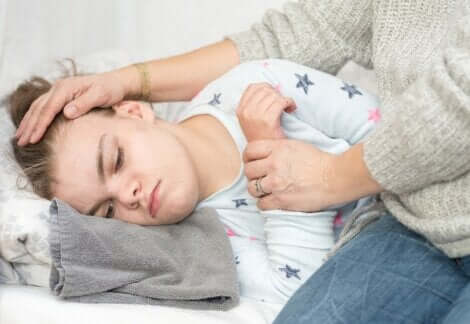 Un cas de crise d'épilepsie infantile.