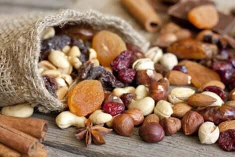 Amandes, noix ou noisettes en tant que meilleurs fruits secs ?