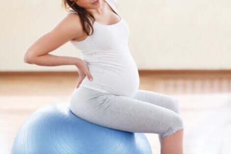 Exercice pour une femme enceinte.