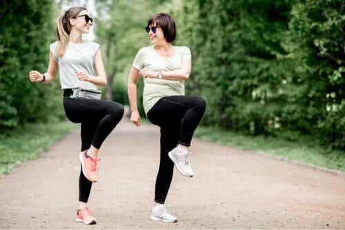 Exercices pour la bursite de la hanche