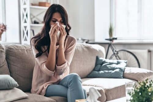 Comment soigner un rhume à la maison