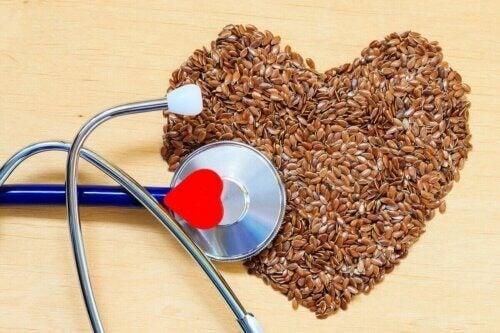 Les graines sont bonnes pour la santé cardiovasculaire.