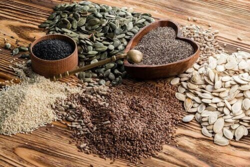 Les différentes variétés de graines.