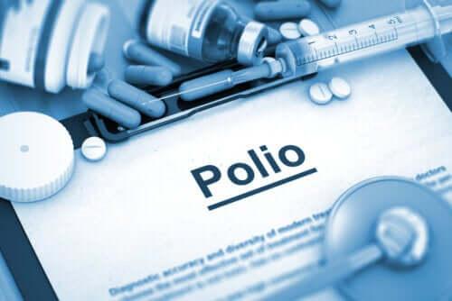Les types de poliomyélite
