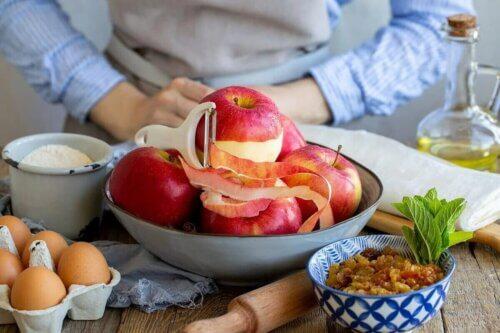 Intégrer un fruit pour le petit-déjeuner.