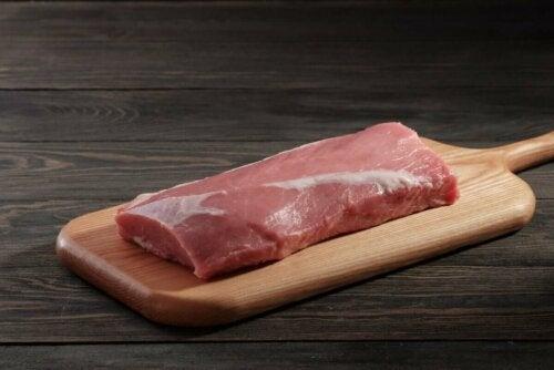 De la viande maigre.