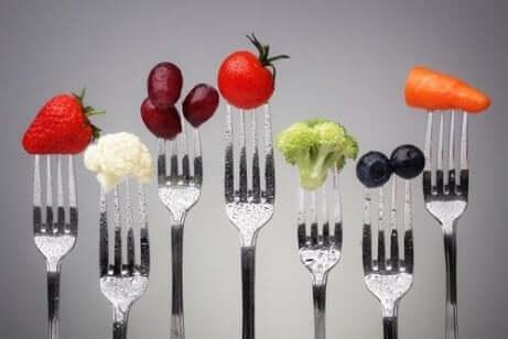 Une alimentation saine contre l'obésité.